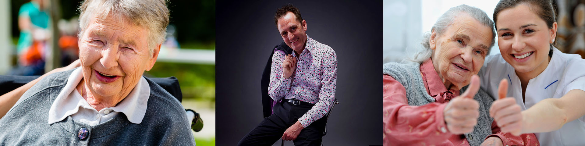 Care Home Entertainer Andy Greaves